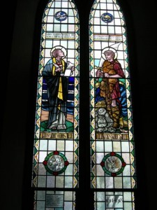 Tyndale WW1 window